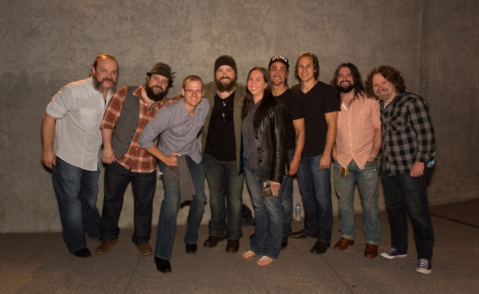 We got to meet Zac Brown Band at their first ever Australian concert in Melbourne this Year!