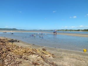 Swimming at 'The Causeway'