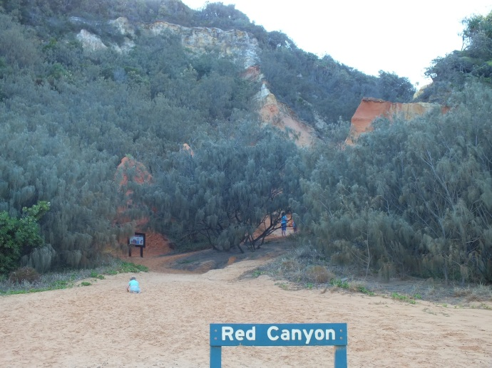 Red Canyon - Rainbow Beach