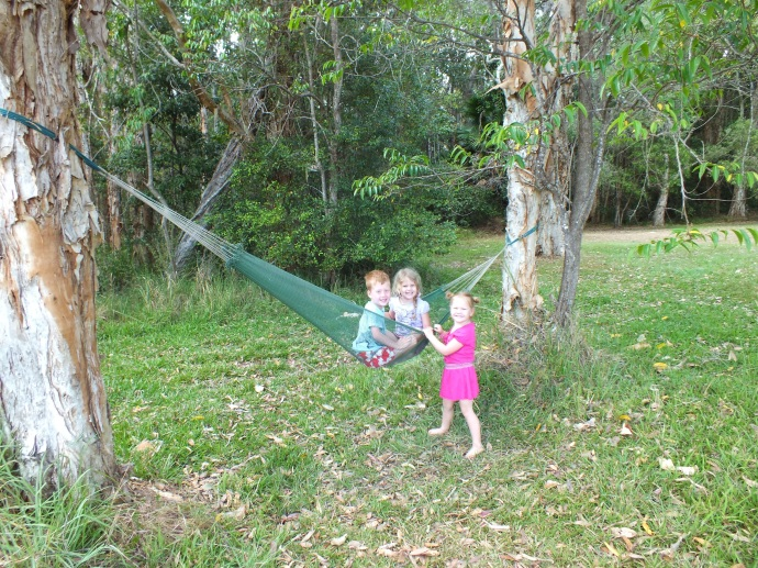 Took the hammock this time but I think the kids were the only ones who got to use it!