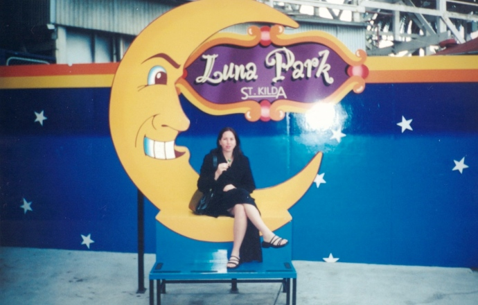 Me at Luna Park - January 2000
