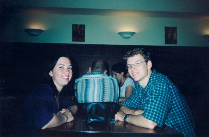 Our first ever holiday together - Melbourne January 2000