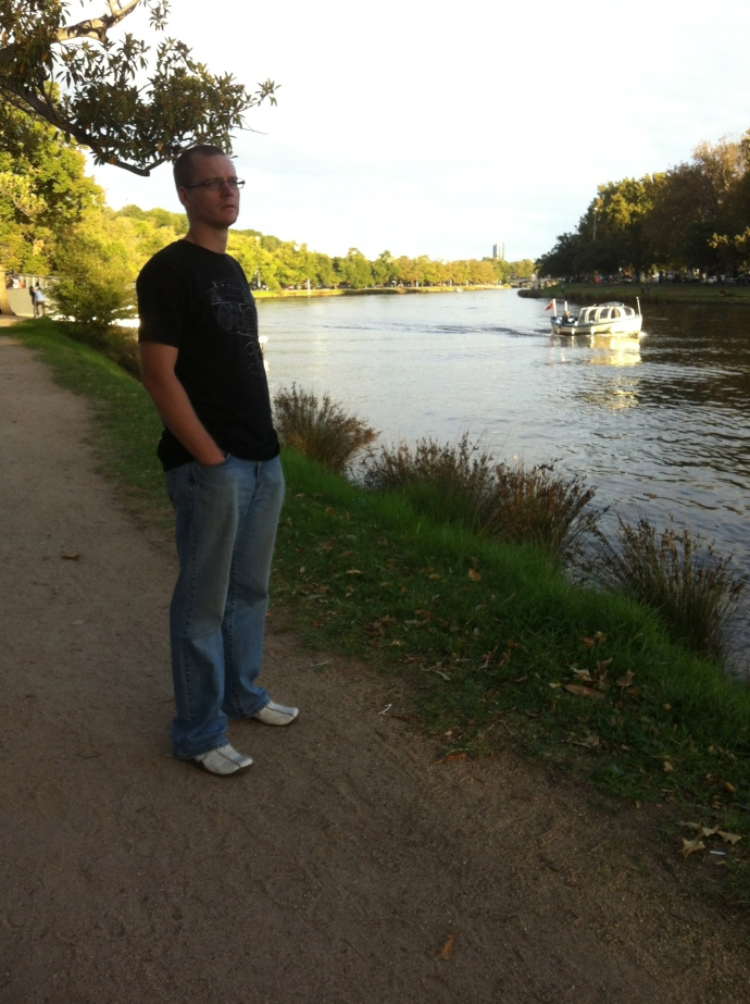 A stroll along the Yarra River