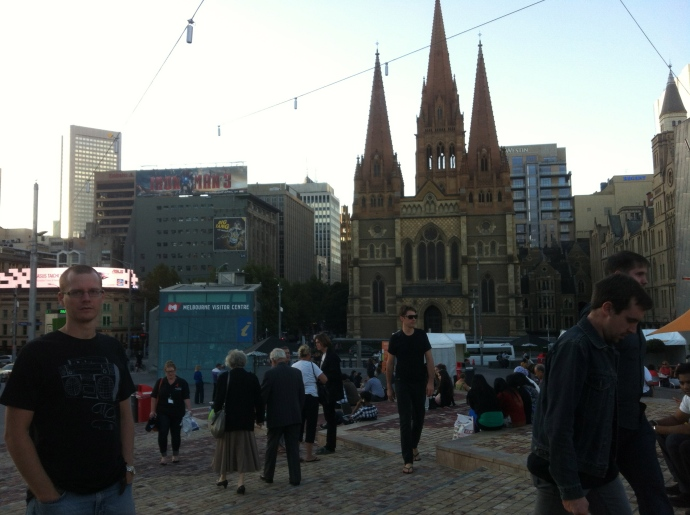 I loved all the beautiful old buildings and churches in Melbourne - really pretty!