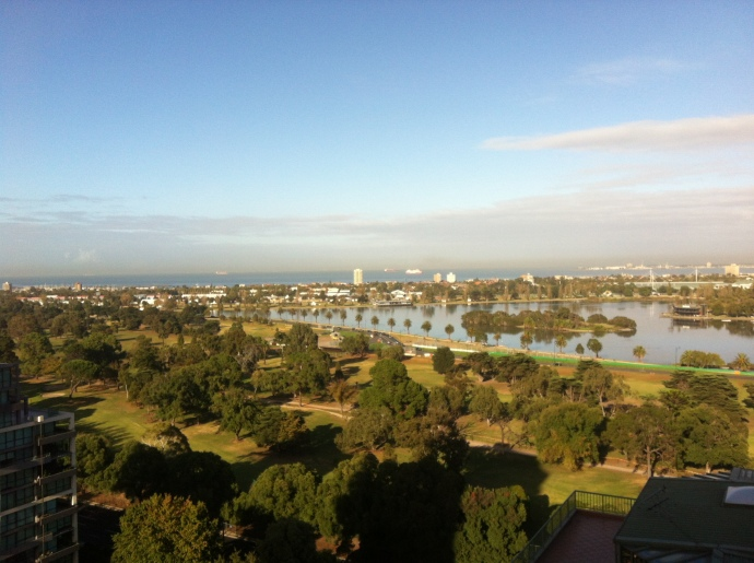 Beautiful, Beautiful view from our room!