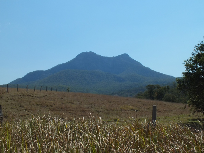 Mt Barney - plenty of hikes to be done around here but we didn't have time to check any of them out.