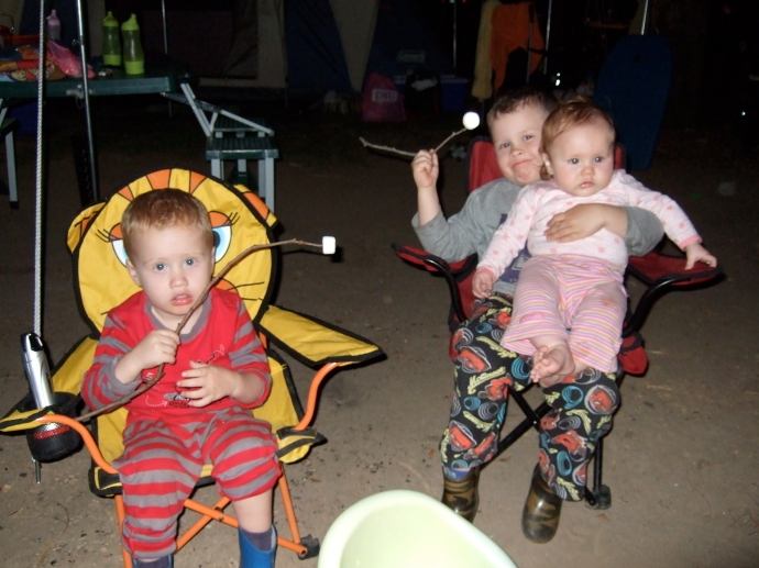 Not much for kids not to like about camping!