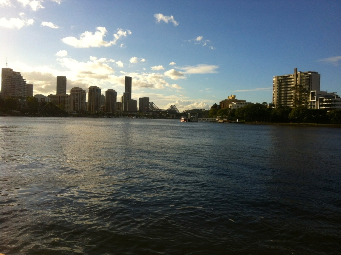 Ride on the CityCat on the Brisbane River with Mel