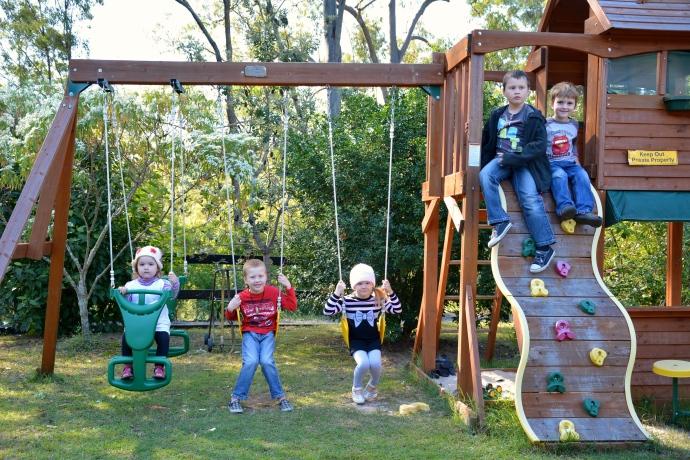 Fealy & Sheil kids at 'Sheil Farm'