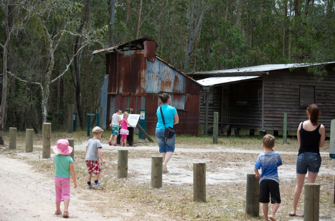 We found the first stop on the 4wd tour ok - Harry's Hut.  It all went down hill from there!