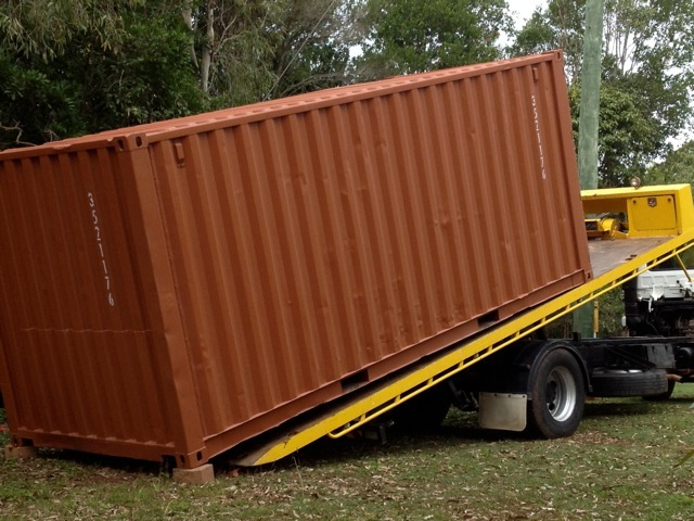 Unloading in Far North Qld