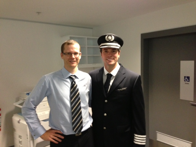 Matt with 'the FCL Captain'!