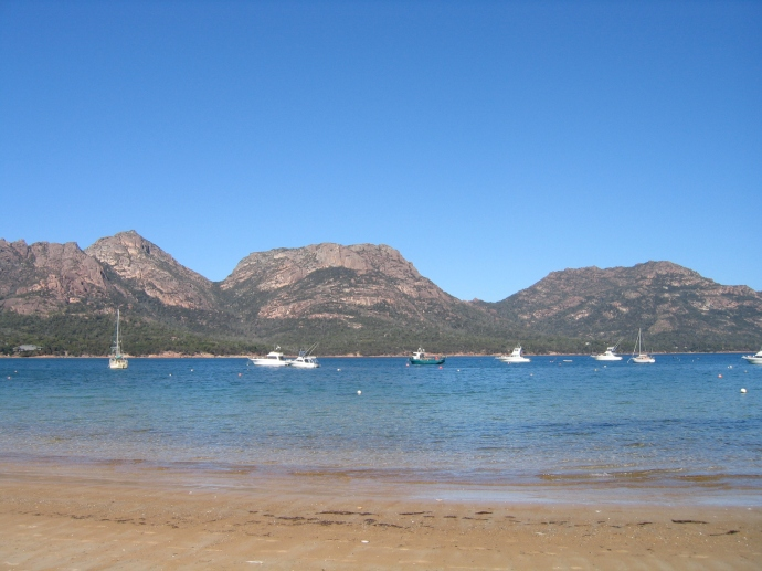 'The Hazzards' Freycinet National Park