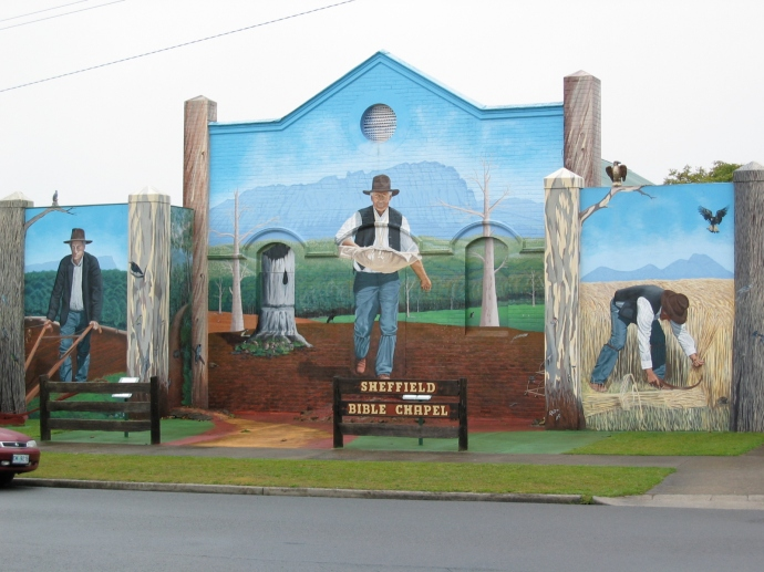 A stop in Sheffield to see all the murals is a must!
