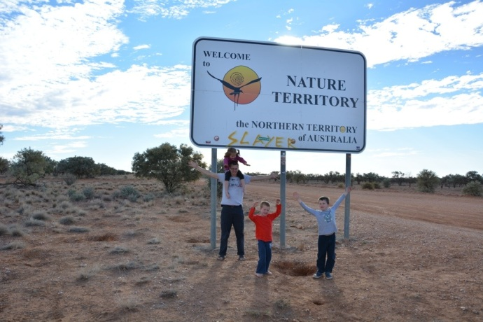 We hit the Northern Territory!  A first for all of us!