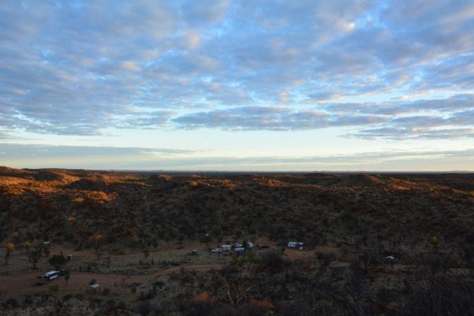 Sunrise at Harts Range