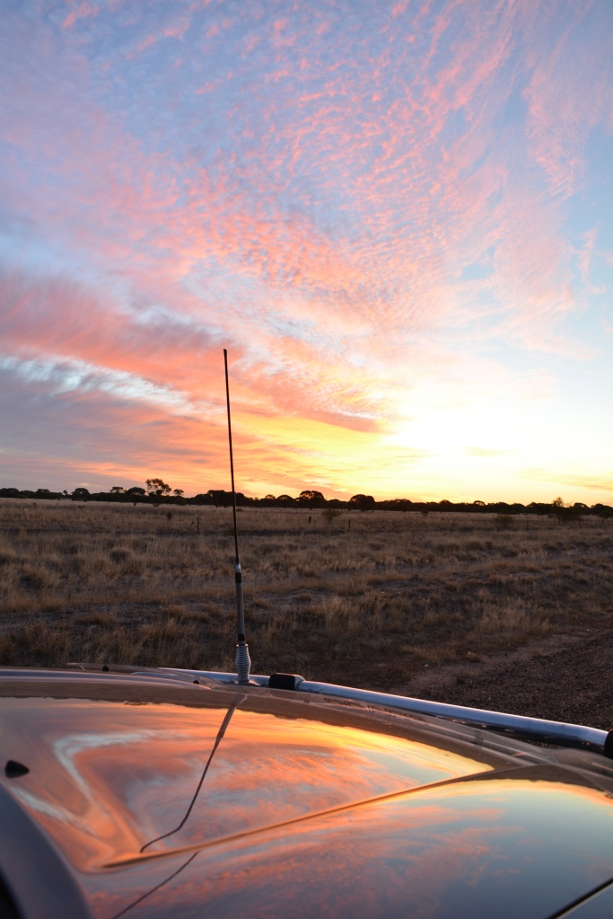 Sunset - just out of longreach