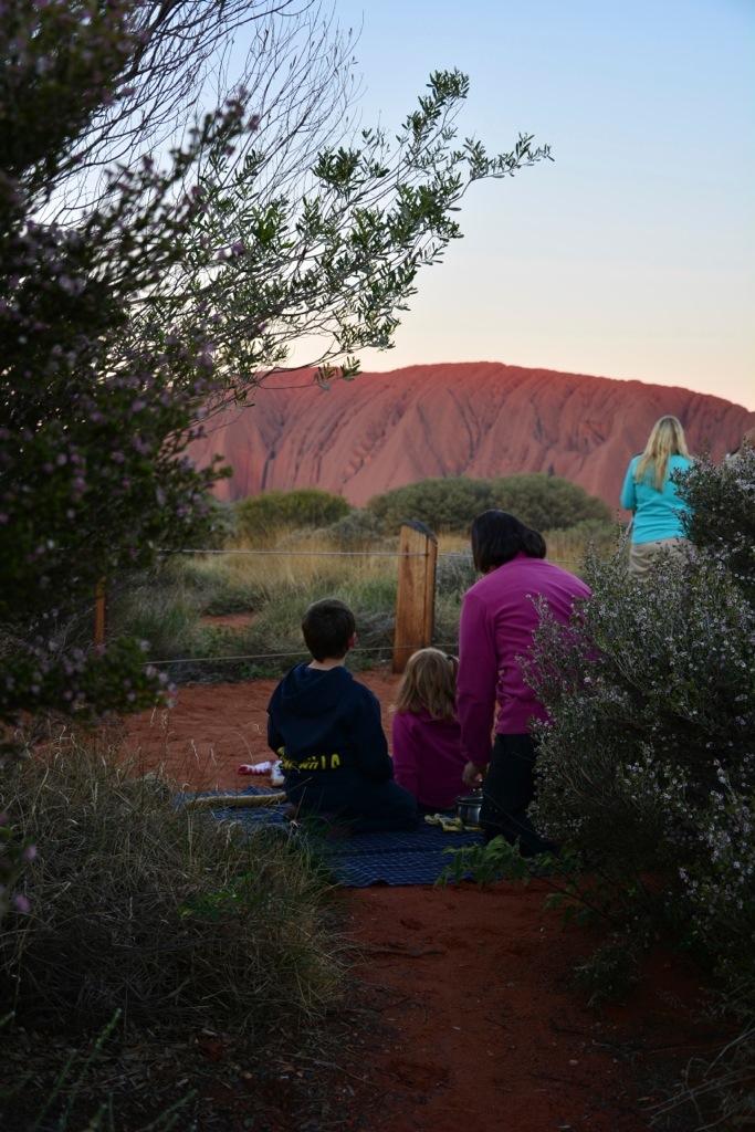 Dinner at Uluru