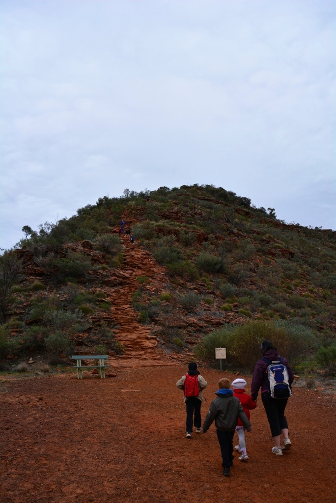 Time to tackle the Kings Canyon Scenic Rim walk
