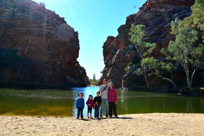 Fealy Family at Ellery Creek Big Hole