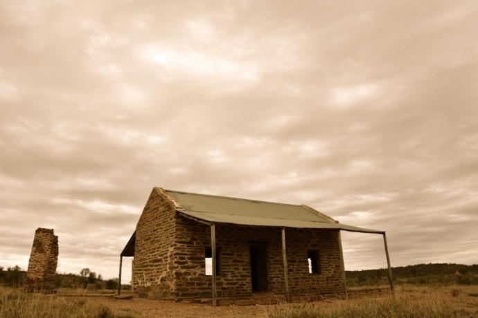 The old police station - Arltunga