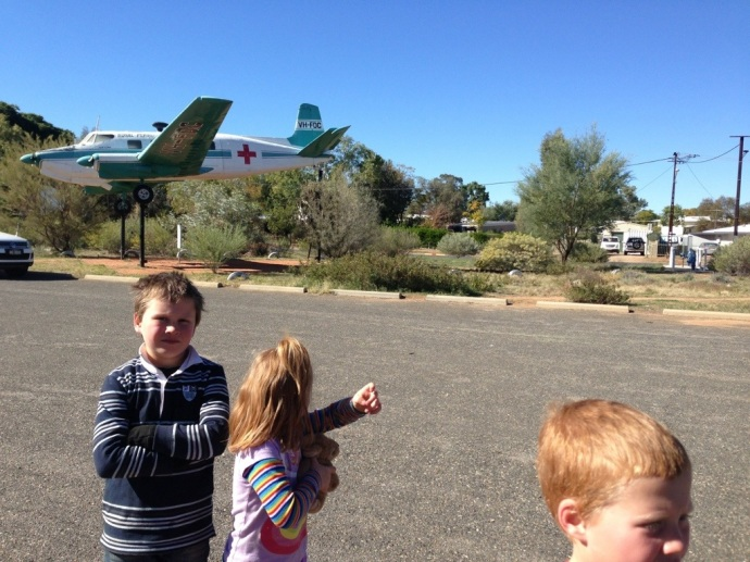 Kids at the free Aviation Museum