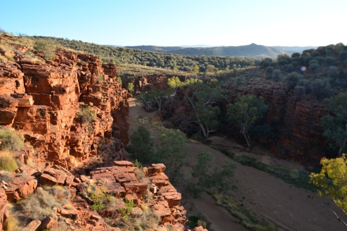 Trephina Gorge from the easy 3km rim walk
