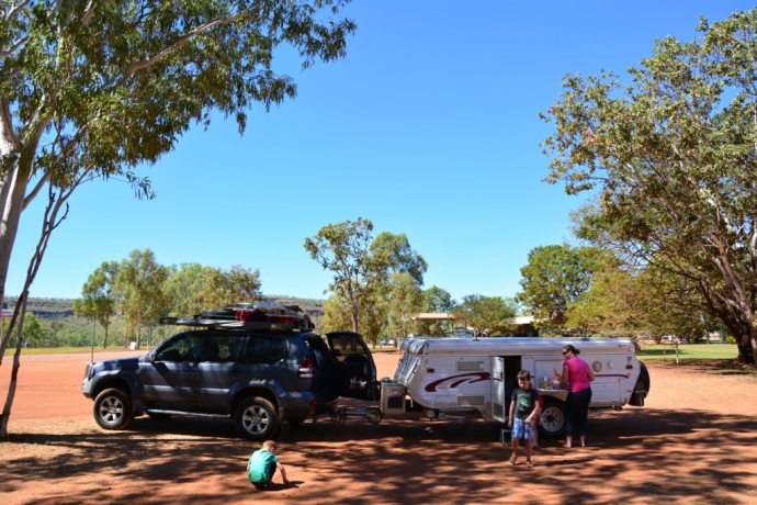 Lunch stop Victoria River Roadhouse