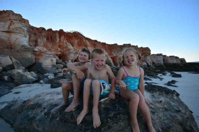 Fealy Kids - Cape Leveque 2013