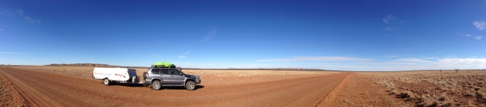 Some of the drought country we saw around WInton, QLD in June.