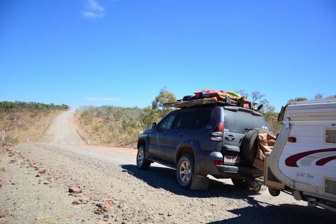 Peter Prado on the Gibb River Road