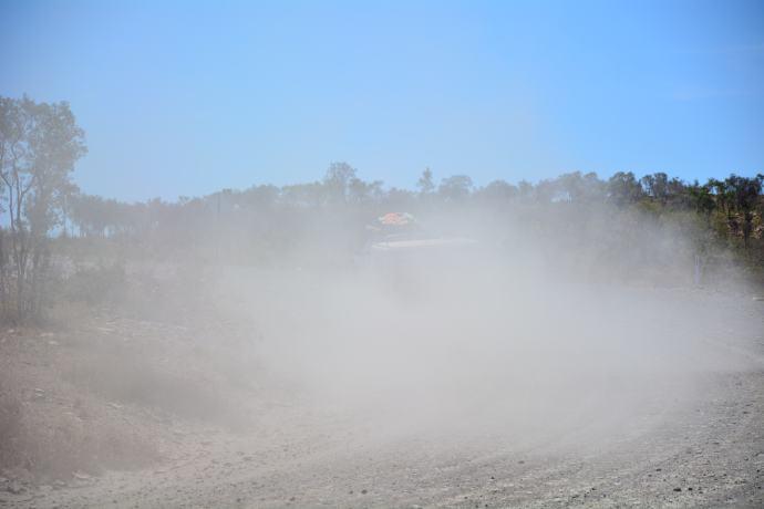 Sooooo much dust