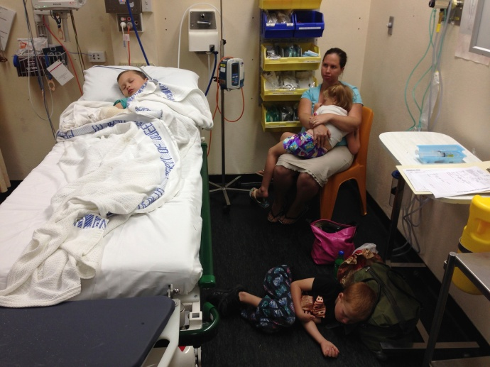 Christmas Eve in the Mareeba Hospital Emergency room