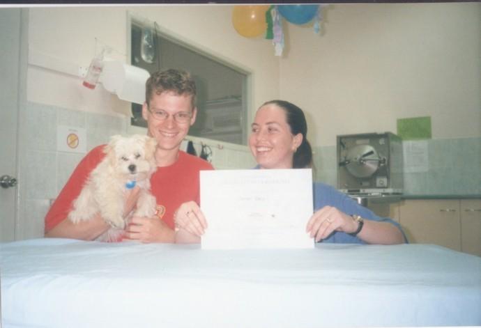 We even took him to Puppy Preschool!