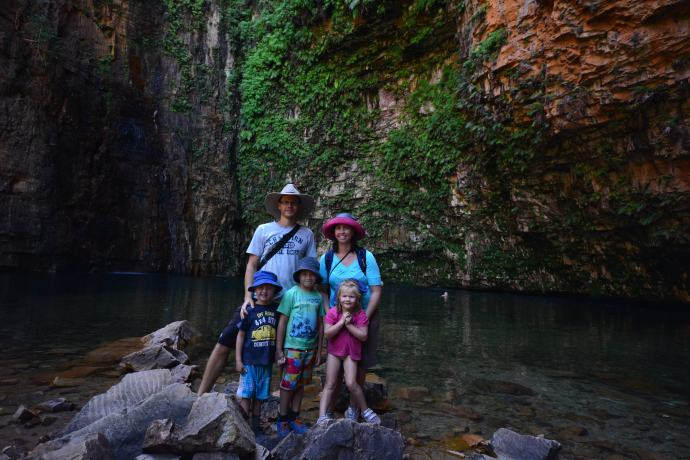 Fealy Family at Emma Gorge