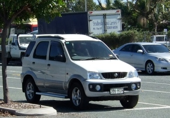 Tezza Terios - we were so excited about our first 4wd!