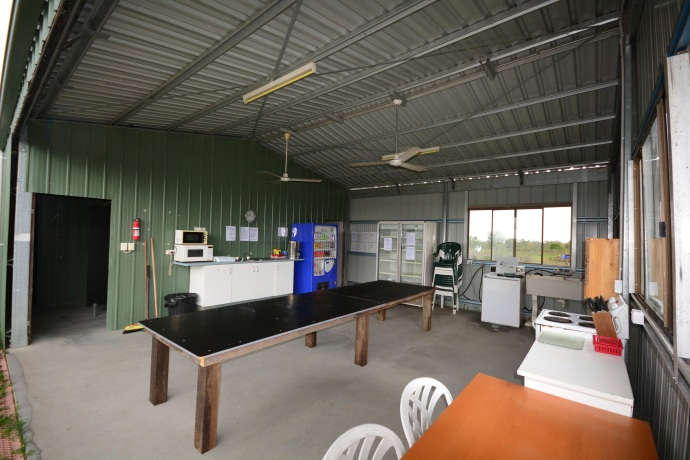Camp Kitchen - Worker's Dorm