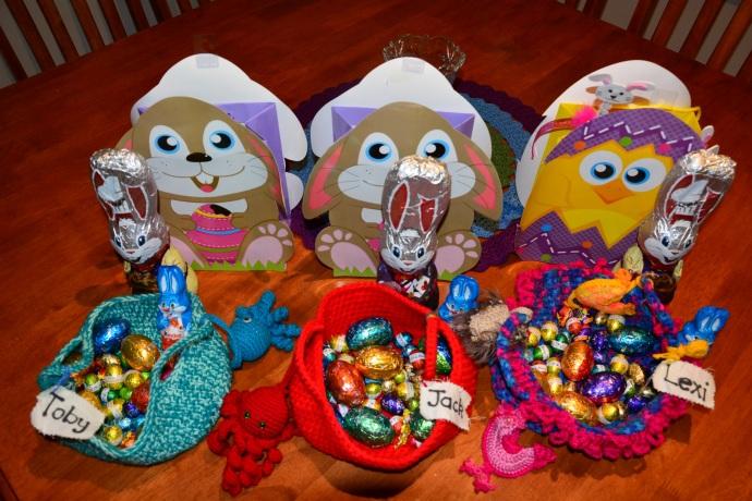 Easter 2014 - Spoilt Fealy Family!