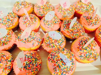 Cupcakes for school