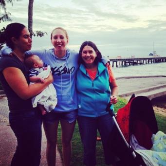 Beth & Kipp, Kate, Mum