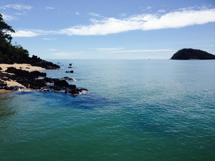 View to Double Island from Palm Cove