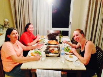 Girls Weekend Dinner!