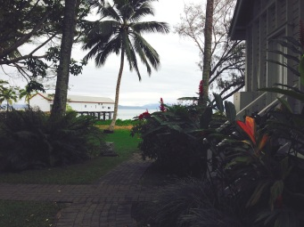 View from the gorgeous little church at Port Douglas